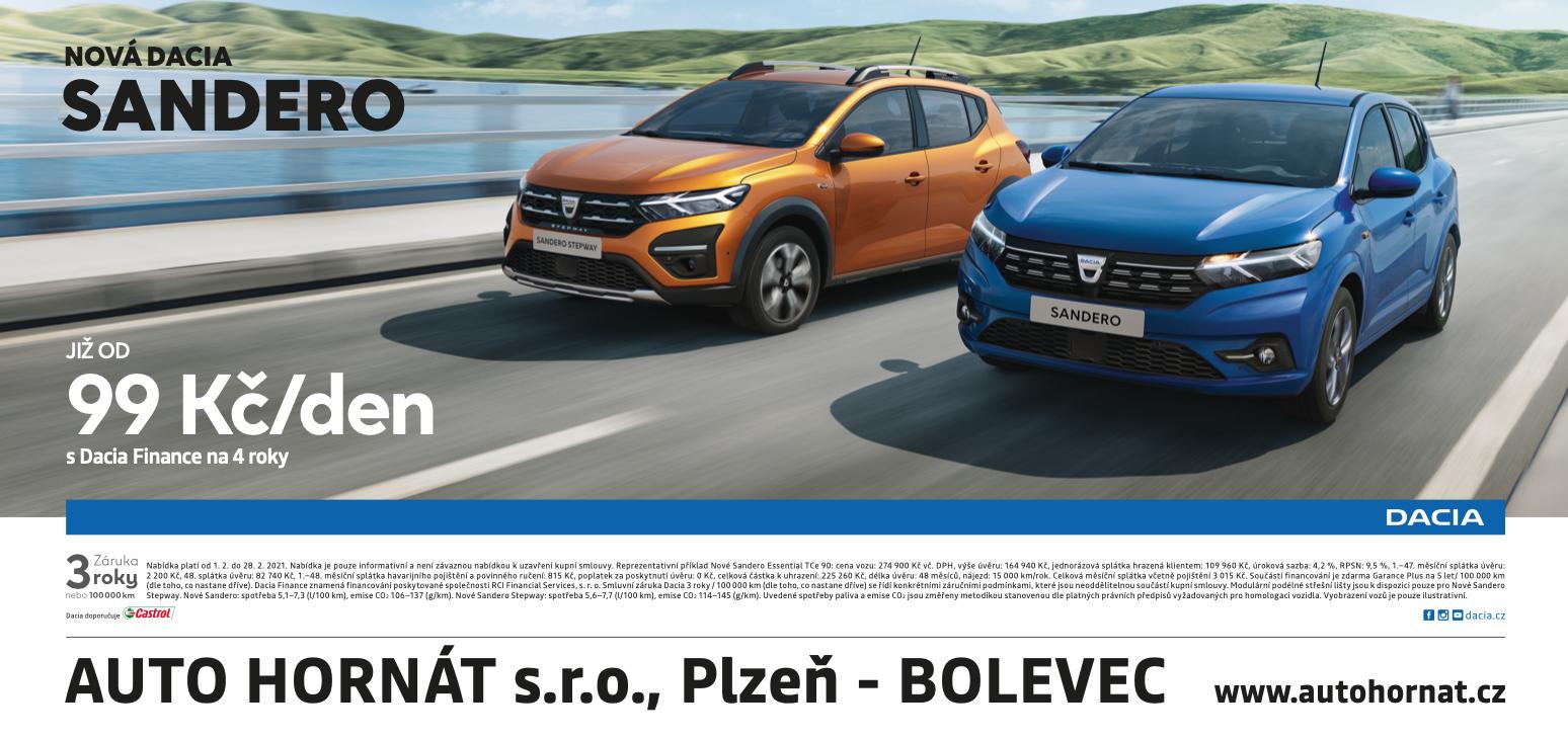 Billboard - Dacia Plzeň